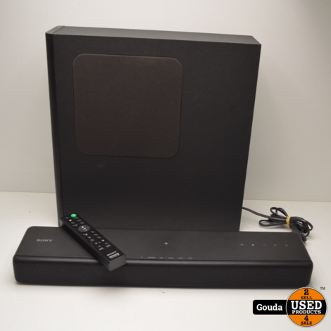 Sony SA-MT300 Active Speaker System Soundbar met draadloze Subwoofer en afstandsbediening Z.G.A.N.