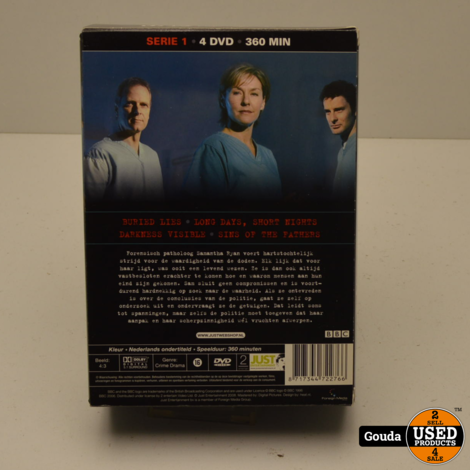 DVD Box Silent Witness serie 1