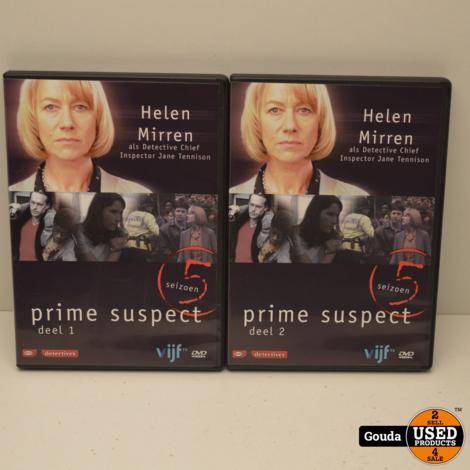 DVD Box Prime Suspect seizoen 5