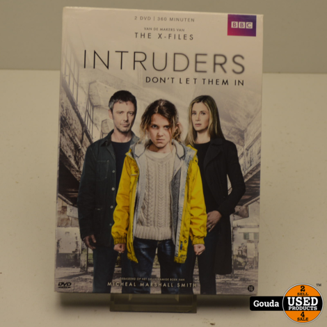 DVD Box Intruders Don't Let Them In