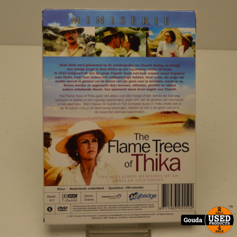 DVD Box The Flame Trees of Thika miniserie