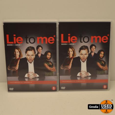 DVD Box Lie To Me seizoen 1