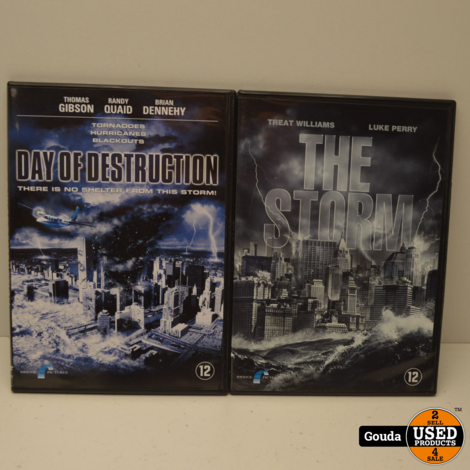 DVD Box The Disaster Collection 4 Dvd's