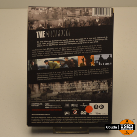 DVD Box The Company miniserie