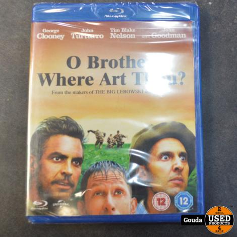 Blu Ray O Brother, Where Art Thou ? NIEUW in seal