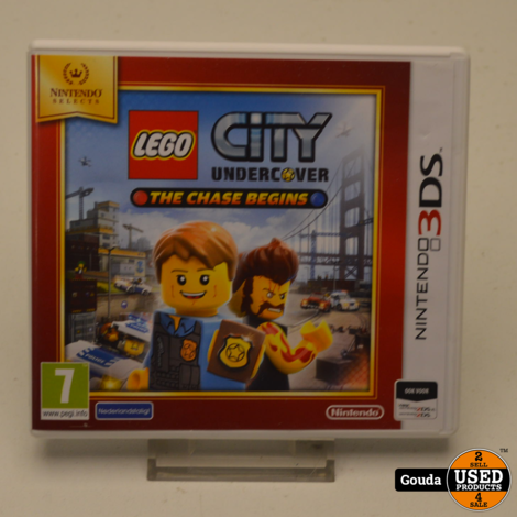 Nintendo 3DS game Lego City Undercover The Chase Begins