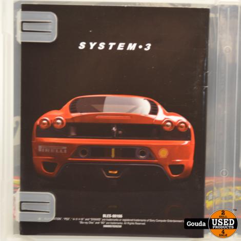 PS3 game Ferrari Challenge met boekje