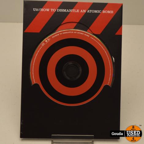 DVD U2 How To Dismantle An Atomic Bomb DVD/CD Box met boekje