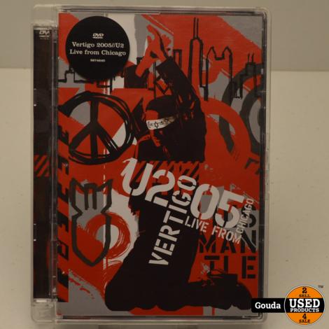 DVD U2 Vertigo 2005 Live from Chicago met boekje