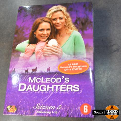 Dvd box MC leods daughters seizoen 5