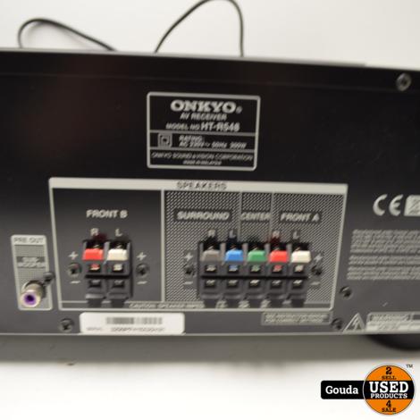 Onkyo HT-R548 AV 5.1 Receiver 120 Watt met afstandsbediening