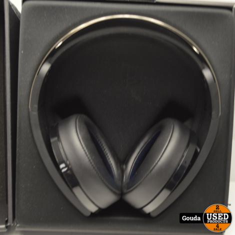 Sony Playstation Platinum Wireless Headset in NIEUWSTAAT, compleet in doos