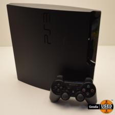 Playstation 3 slim 320 GB met 1 controller en kabelset