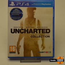 Playstation 4 game Uncharted The Nathan Drake Collection