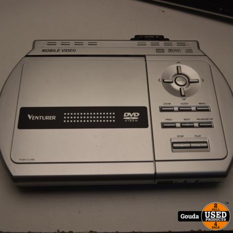 Venturer PVS1950 dvd set  TWIN voor auto