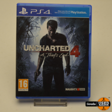PS4 game Uncharted 4 a Thief's End