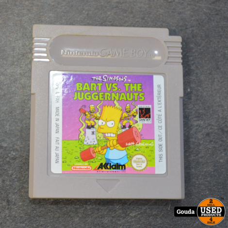 Gameboy game Bart VS the juggernauts