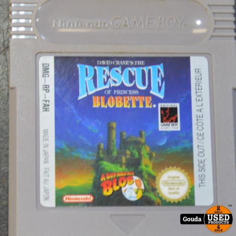 Gameboy game Rescue Blobette