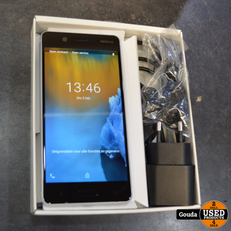 Nokia 5 16 gb Android 9 compleet in doos