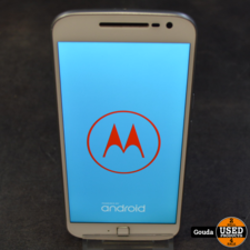 Motorola Moto G4 Plus White Dual sim 16 GB A grade met oplader Android 7 *