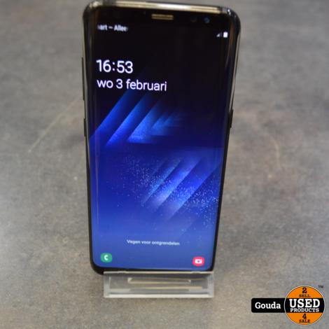 Samsung Galaxy S8 Midnight Black 64 GB met USB kabel *