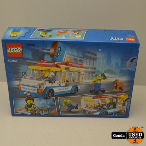 Lego City 60253 IJscowagen Nieuw in ongeopende doos