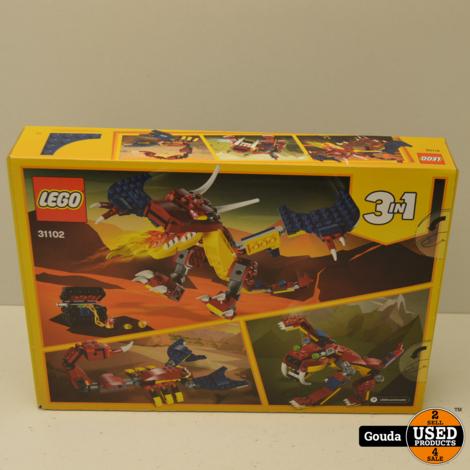 Lego Creator 31102 3 IN 1 Nieuw in ongeopende doos
