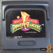 Sega game gear game Power rangers