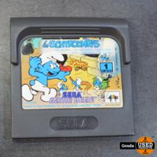 Sega game gear game de smurfen