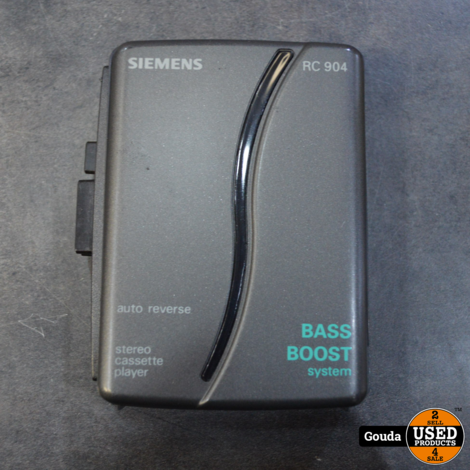 Siemens portable stereo cassette player RC904