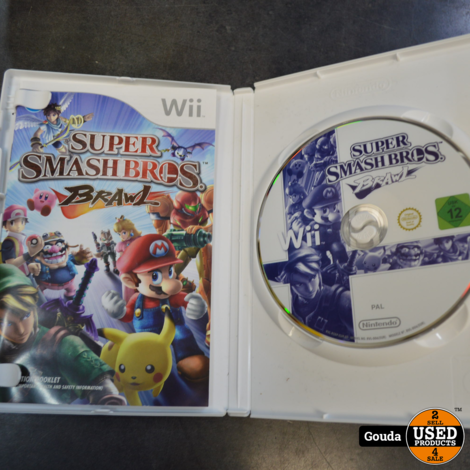 Nintendo wii game Super smash bros brawl