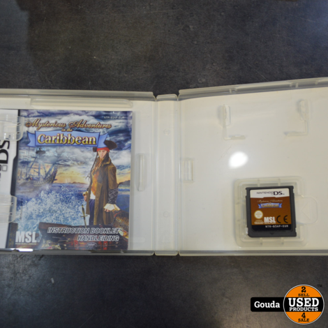 Ds game Mysterious adventures caribbean