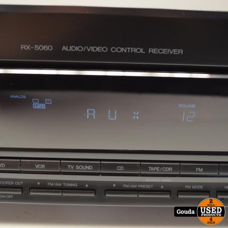 JVC RX-5060B Stereo Receiver 100 Watt zonder afstandsbediening