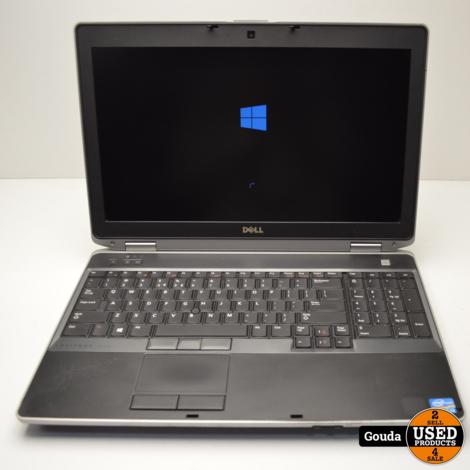 Dell E6530 i7 3e gen 8.00RAM 256SSD 260GHz met docking en lader