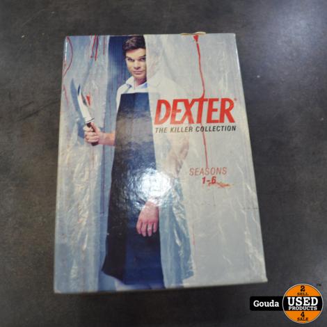 Dvd box Dexter seizoen 1-6