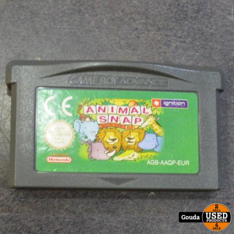 GBA game Animal snap