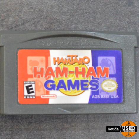 GBA game Ham Ham Hamtaro