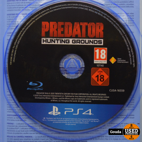 PS4 game Predator Hunting Grounds