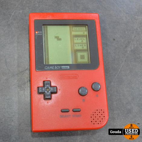 Game Boy pocket rood