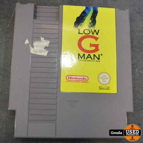 Nes game Low G Man