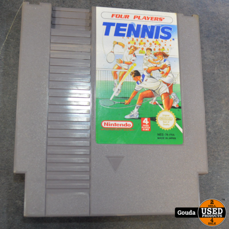 NES game Four players Tennis