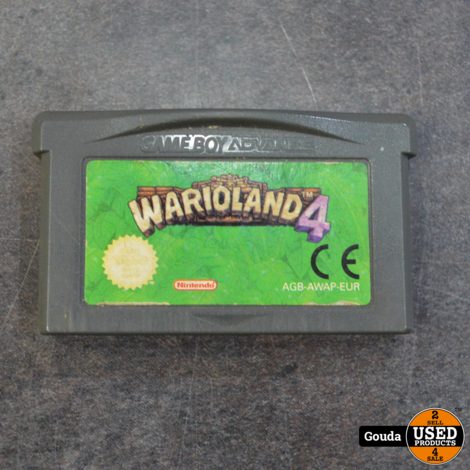 GBA game Warioland 4