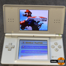 Nintendo DS Lite zilver met games