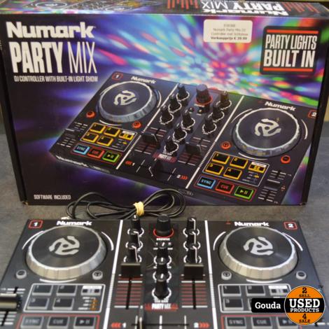 Numark Party Mix DJ Controller met lichtshow
