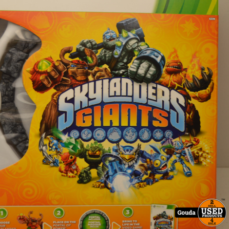 XBox 360 Skylanders Giants startset met portal, game en 3 figuren compleet in doos