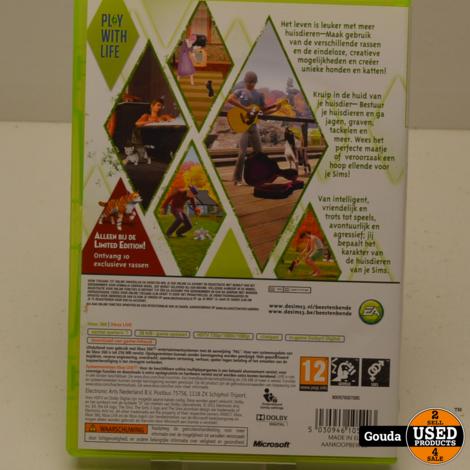 XBox 360 game De Sims 3 Beestenbende