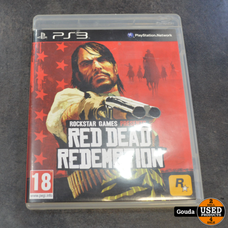 Ps3 game Red dead redemption