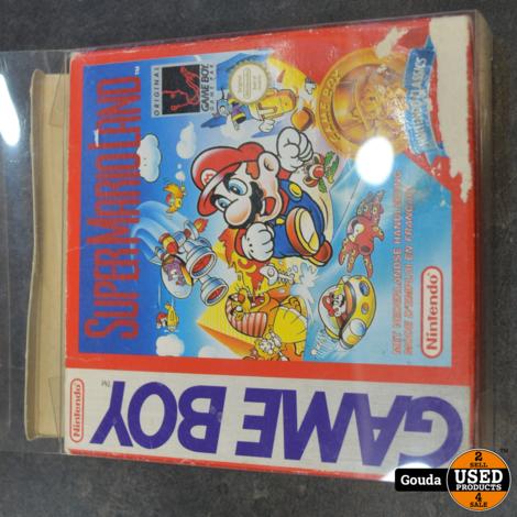 Game Boy game Super Marioland in doos