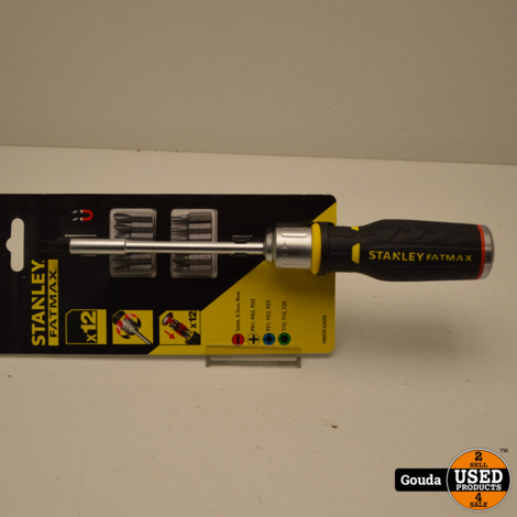 Stanley Fatmax FMHT0-62690 Ratelschroevendraaier 12 Bits NIEUW