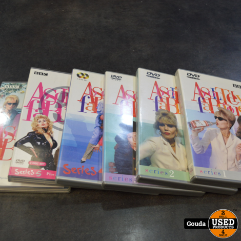 Dvd box Absolutely Fabulous 1-5 + Gay editie